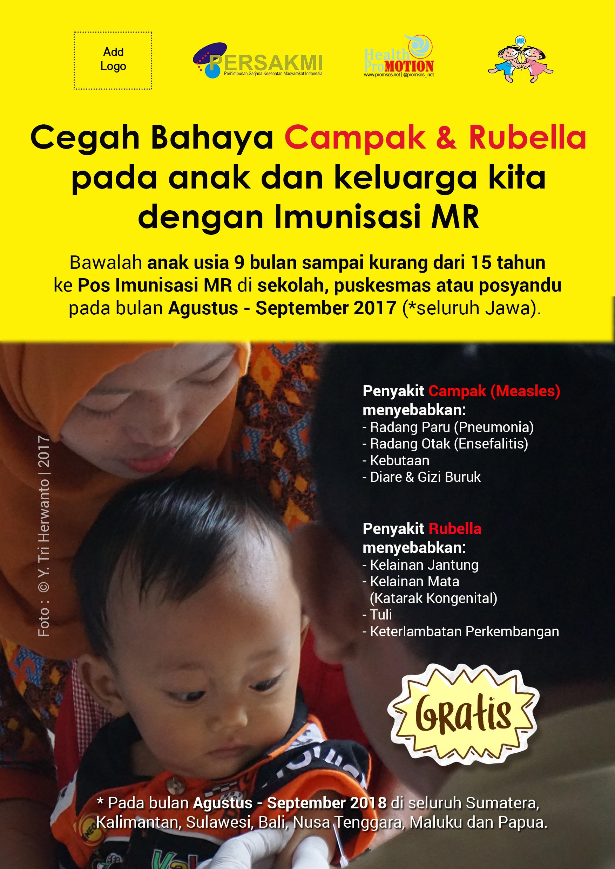 Poster Imunisasi MR - Masyarakat
